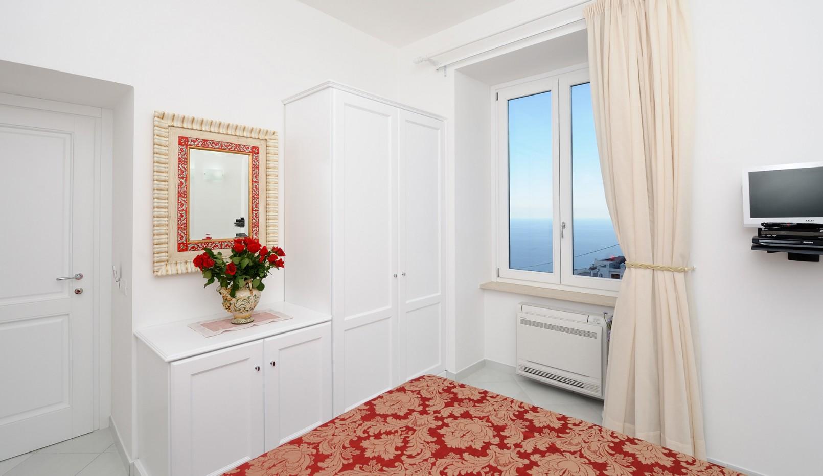 Camera Bacco rossa - La Dolce Vita Ravello