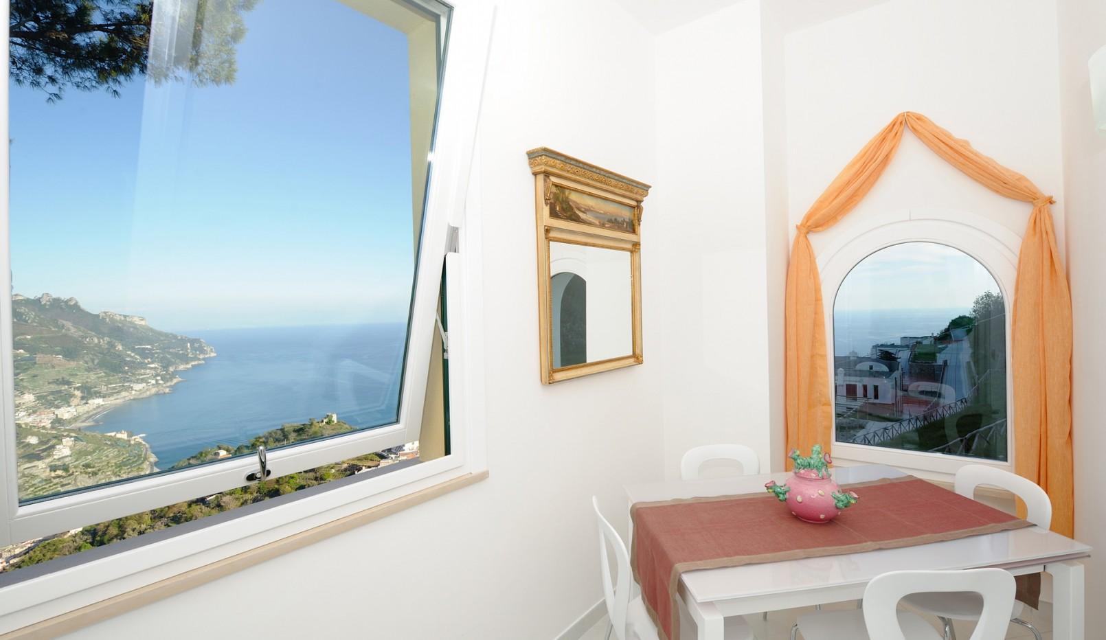Camera Bacco panorama - La Dolce Vita Ravello